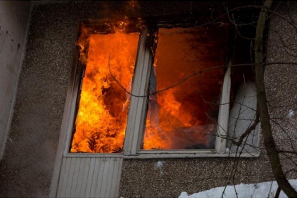 погибли при пожаре в многоэтажном доме в Саратове - подслушано саратов