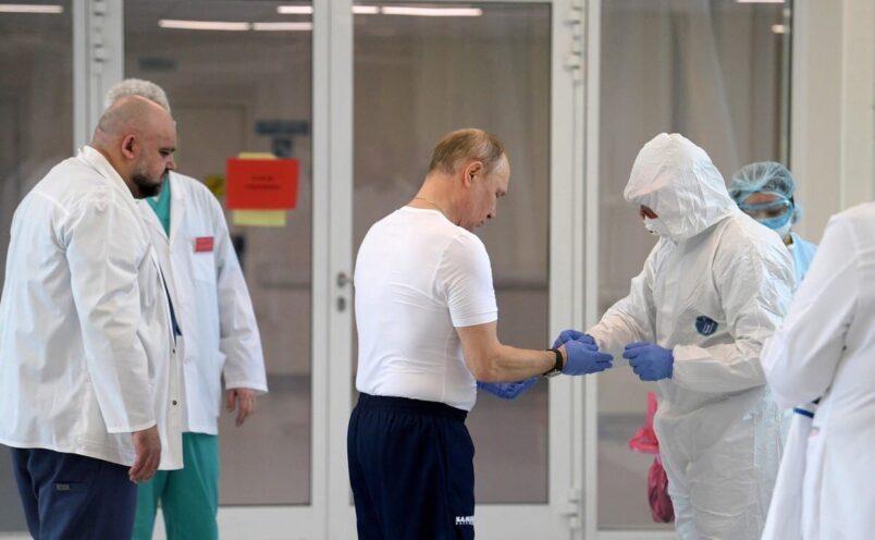 путин сделал прививку от коронавируса
